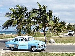 1950's car in Havana